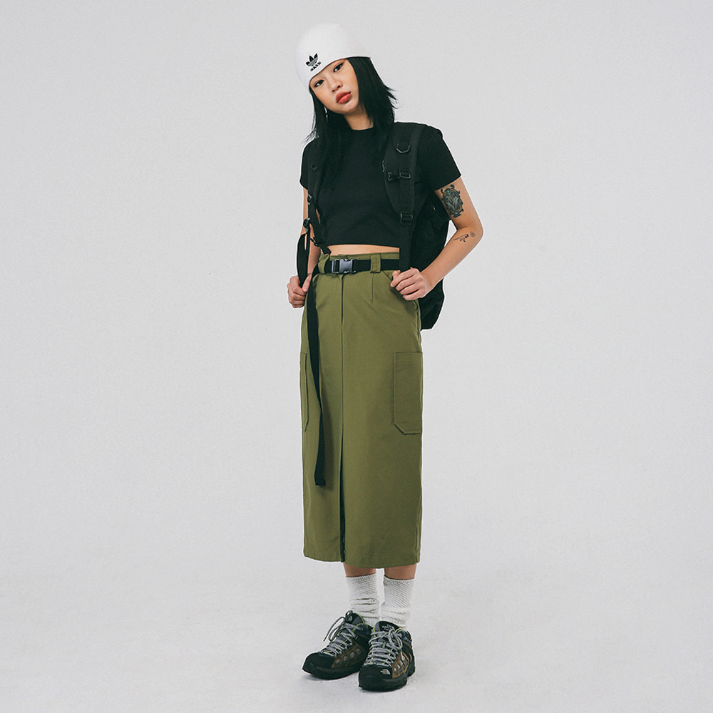 [NTNY-142] WORK CARGO LONG SKIRT
