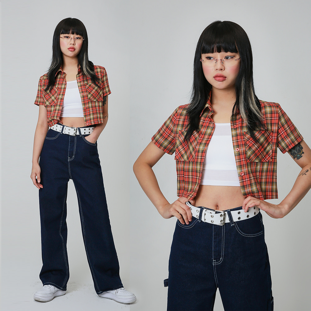 [NTNY-156] CHICKY CHECK SHIRTS