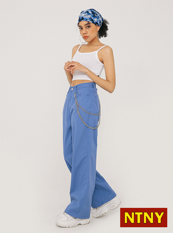 [NTNY-235] RIDLEY COTTON WIDE PANTS