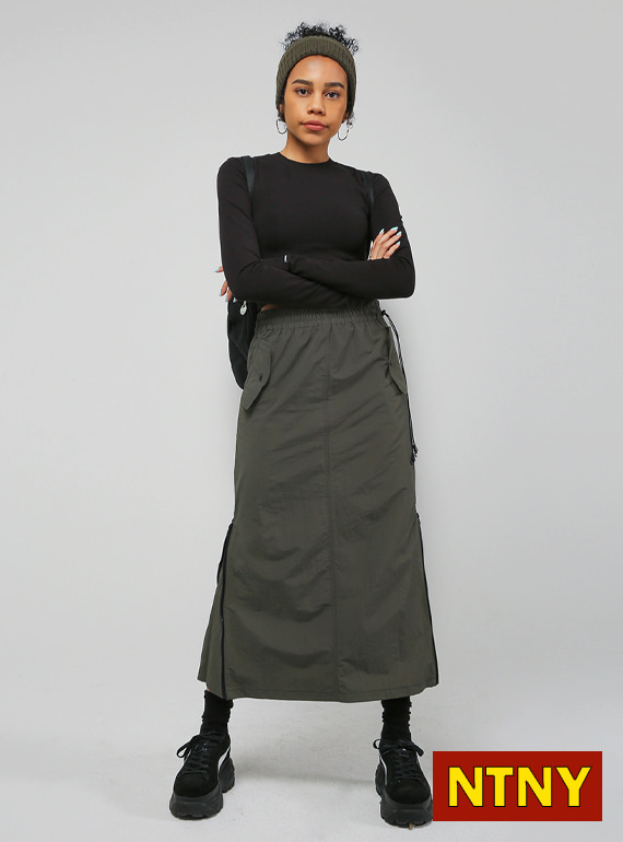 [NTNY-183] GAGA LONG ZIPPER SKIRT